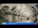 Отреставрированные фрески на станции метро Киевская