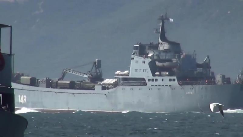 Un navire de débarquement russe à destination de la Syrie envoyé pour renforcer la SAA