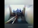на лестнице кайфуем