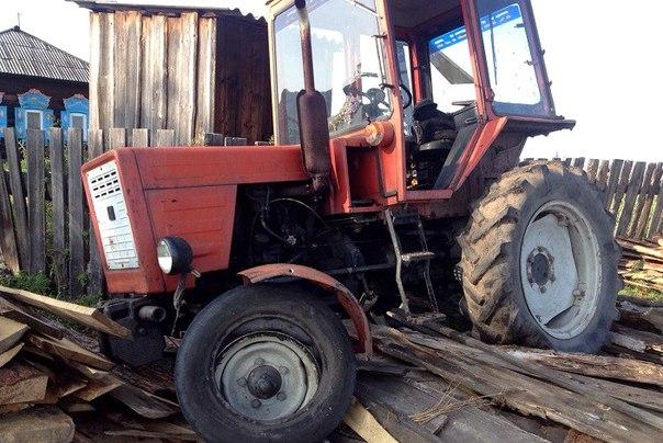 Пряный тракторист-лихач из Аларского района