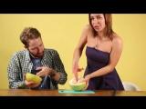 Порноактрисы учат парней делать куннилингус (Kitana Lure, Ally Breelsen, Nikki W