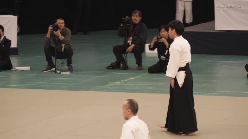 Ju Jutsu.Демонстрация техники Такумакай Дайто Рю Айки Дзю Дзюцу.