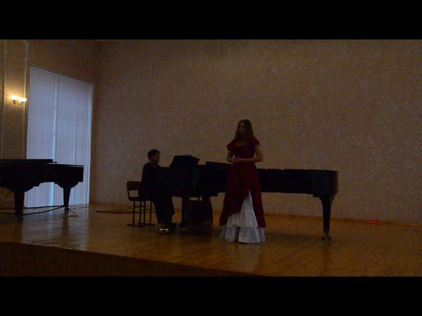 Круглова Ксения. Зейдлер. Вокализ №7. Академический концерт (октябрь 2017)