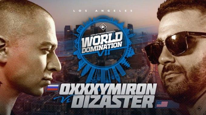 Русское телевидение покажет рэп батлл между Оксимироном и Dizaster'ом