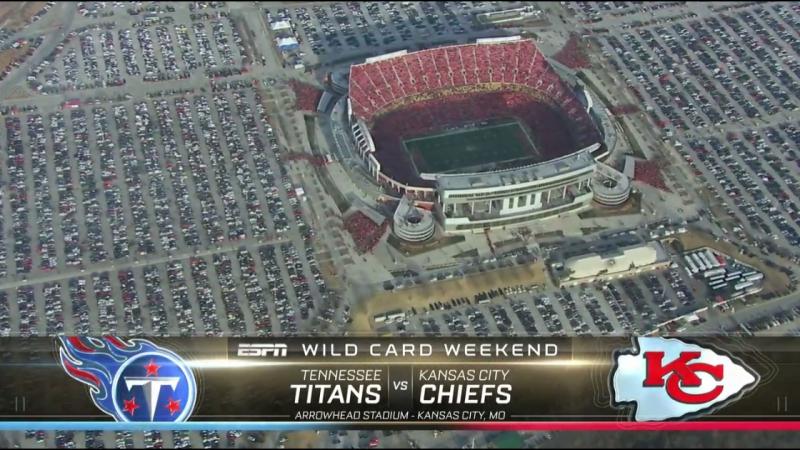 NFL 2017-2018 / AFC Wild Card / Tennessee Titans - Kansas City Chiefs / 1H / 06.01.2018 / EN