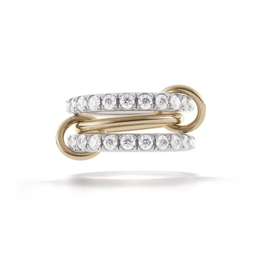 Связанные обручальные кольца Spinelli Kilcollin's (6 фото) - Сайт ведущего на торжество в Волгограде, Павла Июльского. Заказать проведение свадьбы: +7(937)-727-25-75 и +7(937)-555-20-20