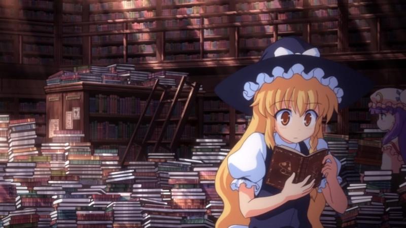 [AniDub] OVA 2 - [DVDRip] Тохо - Сон в летний день / Touhou Niji Sousaku Doujin Anime - Musou Kakyou