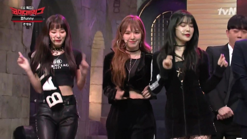 180218 Irene, Seulgi, Wendy (Red Velvet) @ tVN 'Comedy Big League' Cut