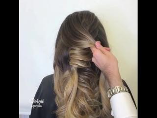 А ты определилась с причёской на торжество?