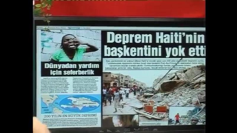 Sn Adnan Oktarın Haitideki depremle ilgili açıklamaları