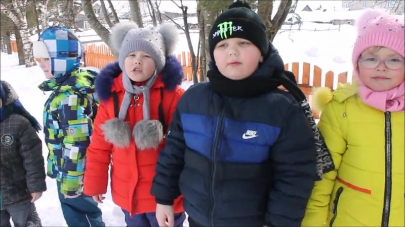 Участники акции Живая вода - воспитанники Кожаевского детского сада Василек, Никольский район.