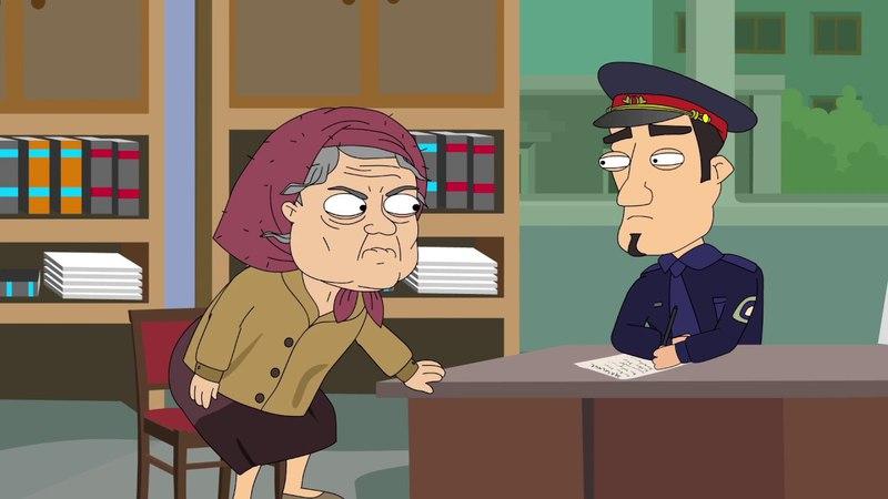 Кит Stupid Show Бабушка в полиции