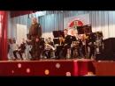 Детский дух.Оркестр кадетской школы г.Бийск.Вальс Под небом Парижа.24.11.2017