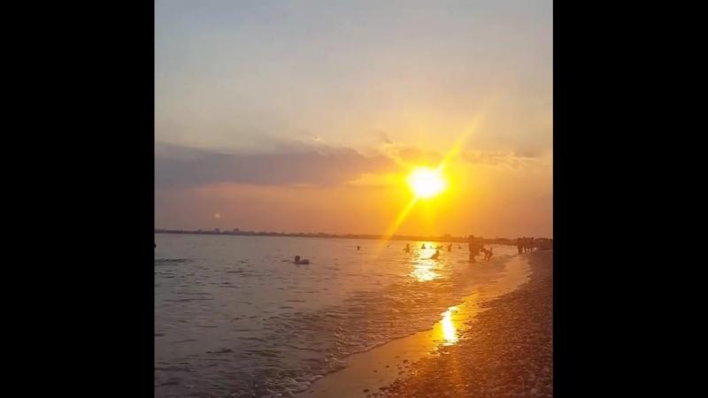 Вечер на море после жаркого дня Евпатория Крым ул Симферопольская