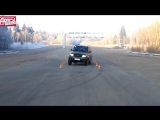 Новый УАЗ Патриот на «лосином тесте»