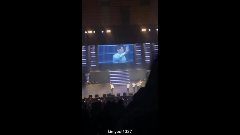 [151217] Специальный фанмитинг Инфинит 2017 в Токио. Шоу 2. Поклон cr.kimyeol1327