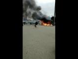 Пожар. Сочи. Олимпийский парк