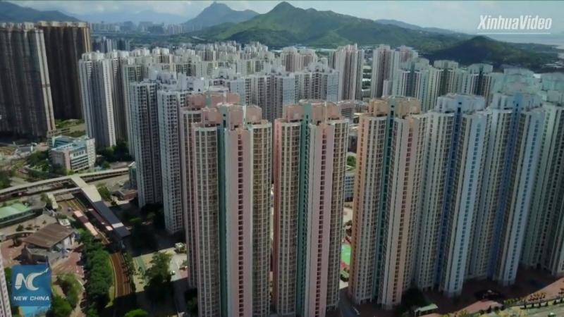 Гонконг таймлапс