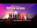 Emma Stone and Billie Jean King introduce Battle of the Sexes