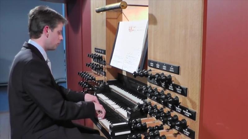 686 J. S. Bach - Aus tiefer Not schrei ich zu dir, BWV 686 Pro Organo pleno - Daniel Bruun