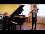Кавер на скрипке и пианино песни Кипелов - Я свободен