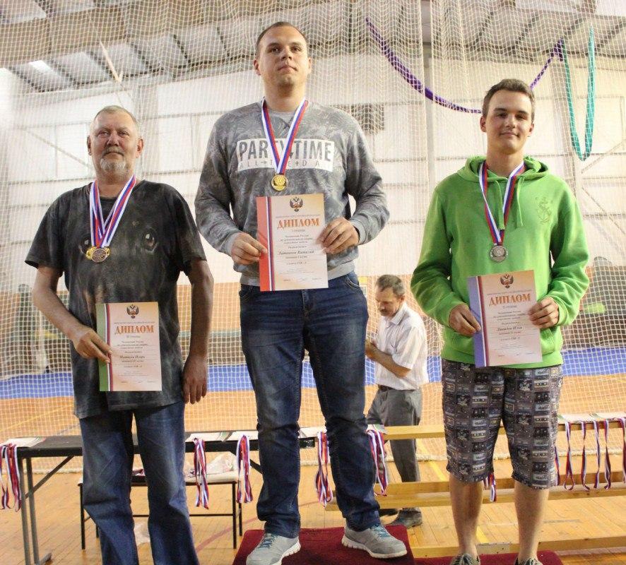 Две золотых и две бронзовых медали
