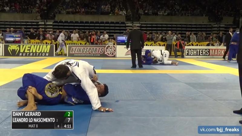 Leandro Lo vs Dany Gerard 2016 IBJJF Pan Championship