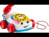Видео обзоры игрушек - Говорящий телефон на колесах