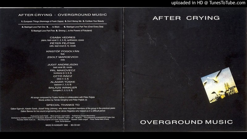 After Crying - Shining ... to the Powers of Fairyland [HQ Audio] Overground Music, 1990