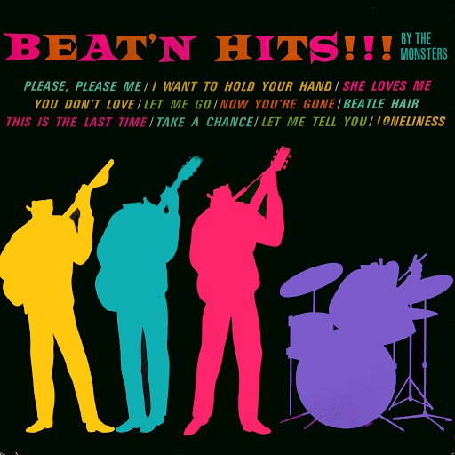 The Monsters альбом Beat'n Hits!!!