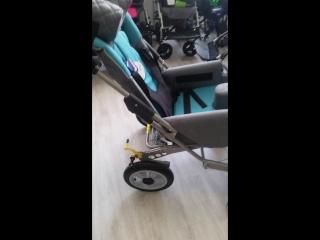 Как складывается кресло-коляска для детей с ДЦП RASER RC+