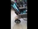 Как складывается кресло коляска для детей с ДЦП RASER RC