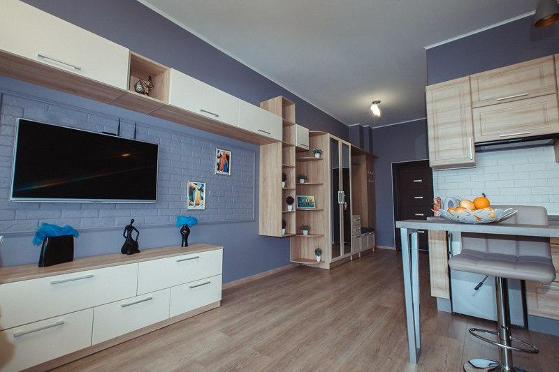 Гостевая квартира-студия 34 м в Светлогорске.