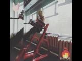 metelitsaveronika Вот так проходят мои тренировки с девочками 😉, с юмором, с шутками, на позитиве, с весом. Планка с весом 15кг.