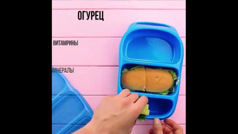 Красивый завтрак в школу » Freewka.com - Смотреть онлайн в хорощем качестве