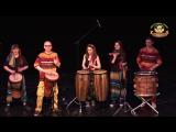 Выступление в Театре Луны на международном фестивале восточного танца