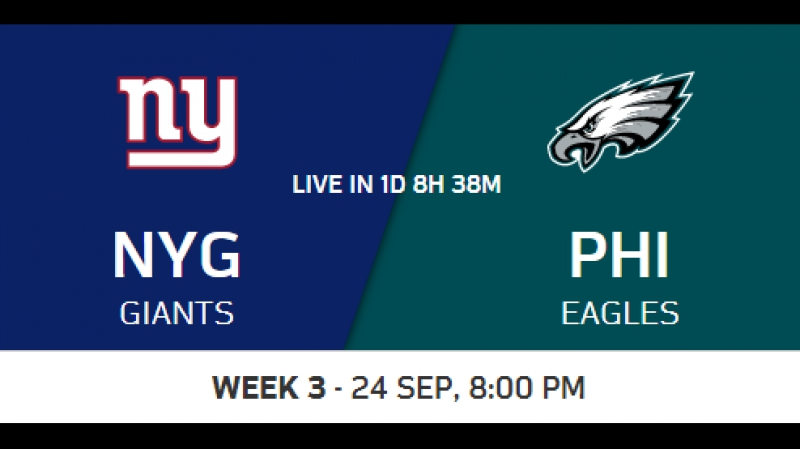 NFL 2017-2018 / Week 03 / New York Giants - Philadelphia Eagles / Condensed Games / Сжатые игры / EN