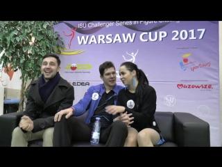Бетина Попова - Сергей Мозгов КТ Warsaw Cup 2017