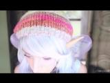 ASMR Cherry Crush - ♥ Fairy Role Play - Ear Eating Mouth Sounds ASMR ♥