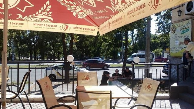 Скандал в Запорожье: Неизвестный незаконно присвоил землю возле пиццерии Bells Italia (Фото)