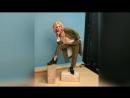 Катя Самбука на съёмках 2018 4