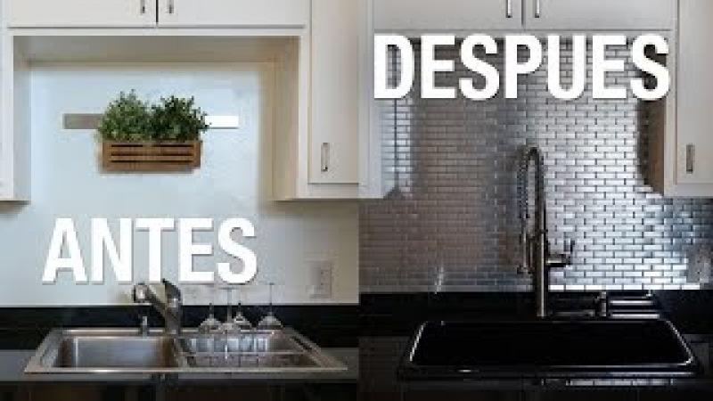 ¡Transformamos nuestra cocina! | DIY | Superholly