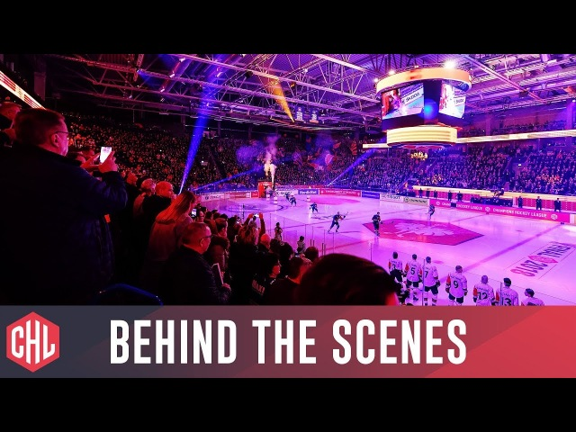 The CHL Final 2018   Behind the Scenes