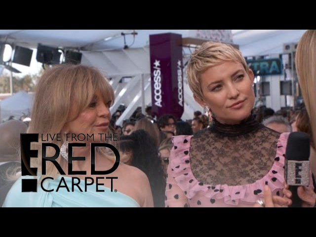 Kate Hudson Goldie Hawn on Learning From Each Other | E! Live from the Red Carpet