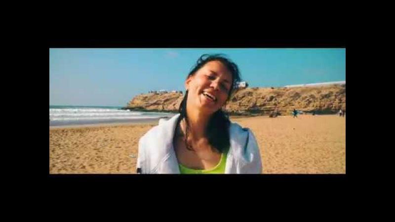 Лера побывала у нас на серфинге в Марокко и Португалии. Теперь летит на Бали!