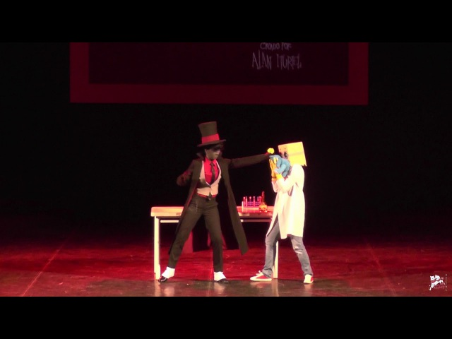 Black Hat Dr Flug Villainous Fuyu no Сosplay 2017