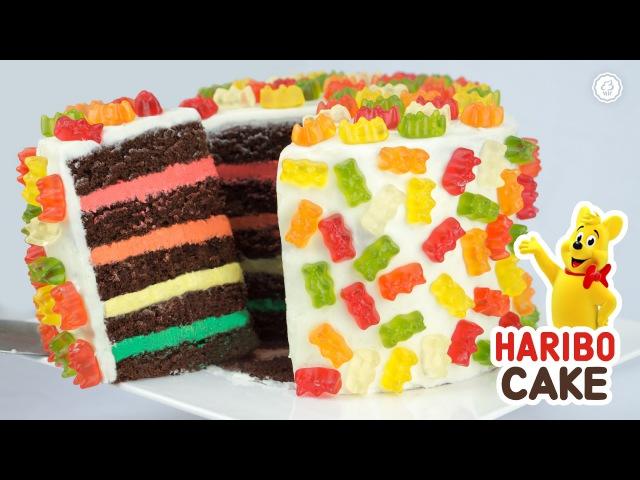 노오븐♥ 해피벌스데이 통통튀는 하리보 케이크 만들기 - Ari Kitchen(아리키친)