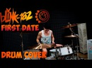 Blink 182 - First Date | Mike Kachula Drum Cover