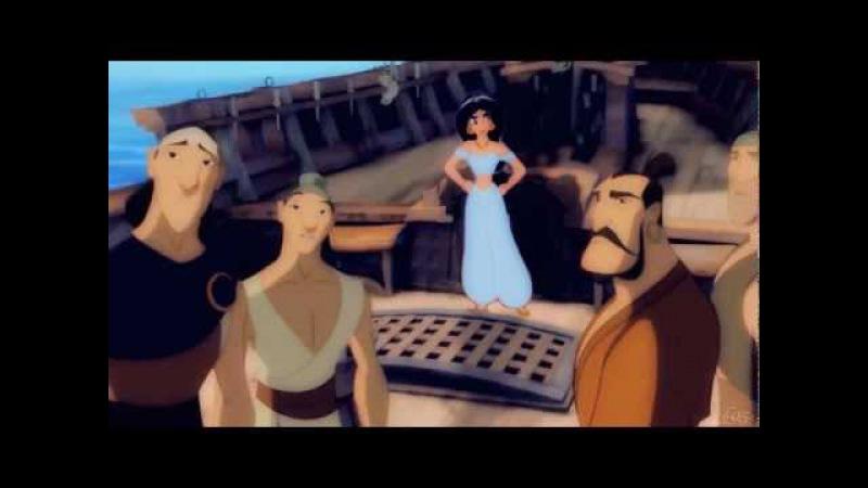 Nothing But Love ♪ ~ Jasmine ♥ Sinbad {Non/Disney Crossover}