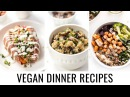 3 EASY VEGAN DINNER RECIPES all made with quinoa 💯